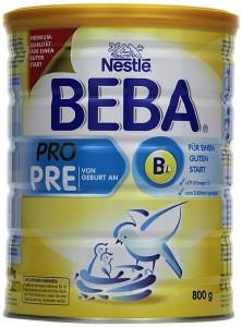 Beba Pro pre nahrung Pre Nahrung – Test – Die Top 5 Beba Pro 222x300
