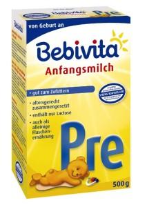 Bebivita pre bebivita pre Bebivita PRE – Säuglingsnahrung Bebivita pre 213x300